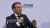 Macron : la Russie va «continuer à essayer de déstabiliser» les démocraties occidentales
