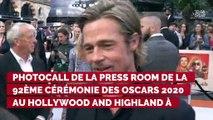 Oscars 2020 : Pourquoi Brad Pitt a -t-il remercié Geena Davis dans son discours ?