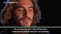 Tsitsipas looks back at three years on the ATP Tour