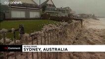 L'Australie touchée par la pluie et les inondations