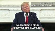 """Commerce: Trump veut négocier """"très sérieusement"""" avec l'UE"""