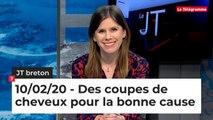 JT Breton du lundi 10 février 2020 : Des coupes de cheveux pour la bonne cause