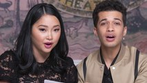 Lana Condor & Jordan Fisher Talk On-Screen Kissing  on the Set of 'To All the Boys: 2'