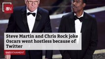 The Steve Martin And Chris Rock Oscars Monologue
