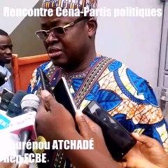 Demande d'interprétation d'un député de Loi qu'il a voté :  Réaction de l'He Nourénou Atchadé   (Bis repetita à la rencontre Céna-Partis politiques)
