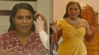 Mindy Kaling Gets Camera Ready for the Oscars