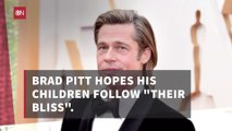 Brad Pitt's Goals For His Kids
