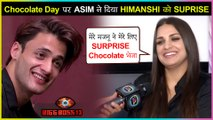 Himanshi Khurana SHARES Secret Of Asim Riaz Sending Chocolate For Her | Bigg Boss 13 | Valentine Day