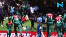 Bangladesh and India players penalised  for ugly fight in U19 Cricket World Cup final