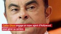 Carlos Ghosn engage un super agent d'Hollywood pour gérer sa carrière