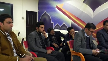 Discussion with Prof.Ahmad Rafique Akhtar