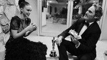 Joaquin Phoenix & Rooney Mara Heartwarming Moment at the Oscars 2020