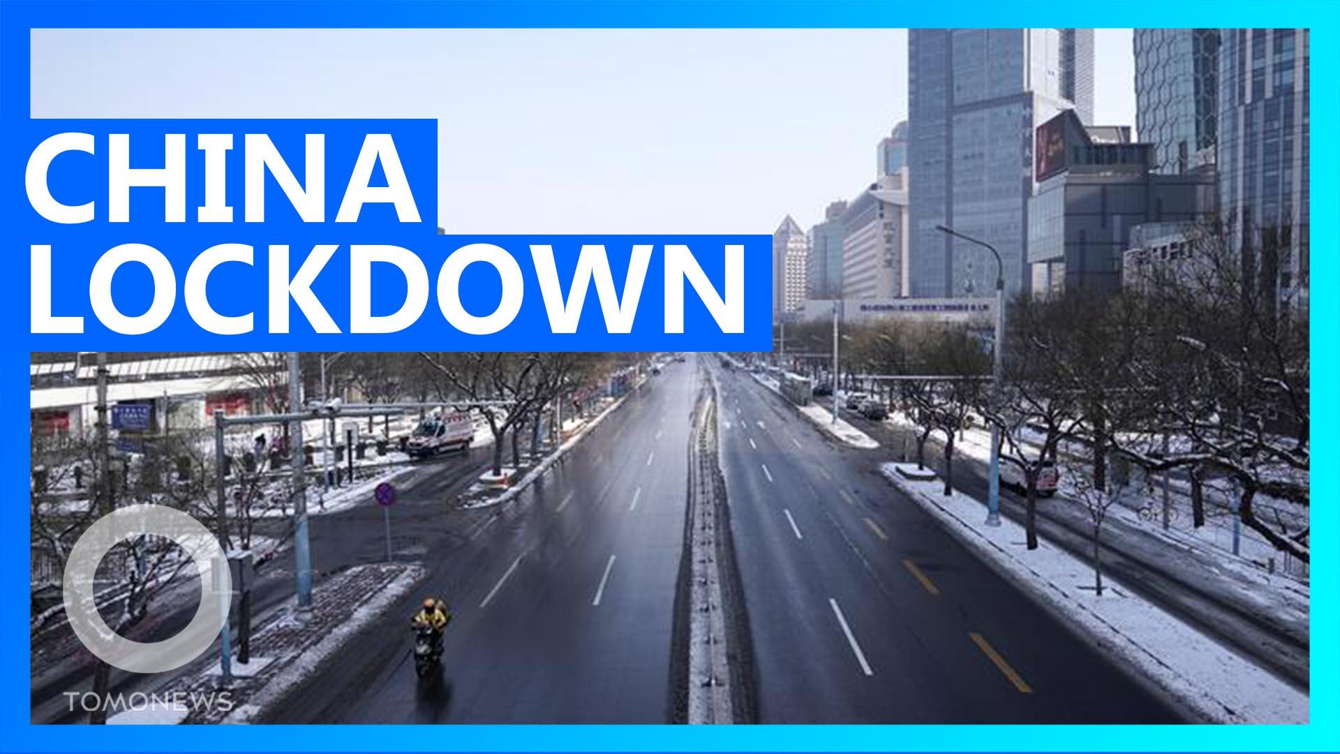 China goes into further lockdown as Wuhan coronavirus spreads
