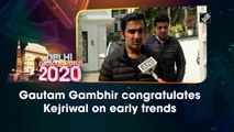 Delhi election results: Gautam Gambhir congratulates Kejriwal on early trends