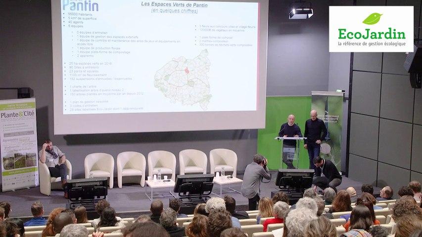 6 - Didier Mereau et Grégory Sorre, Ville de Pantin - Rencontre EcoJardin 2020