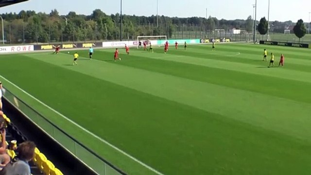 Les skills de Giovanni Reyna avec les U19 du Borussia Dortmund