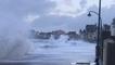 Tempête Ciara. Forte houle à Saint-Malo