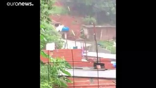 Brazil: Heavy rains cause floods and mudslide in Sao Paulo