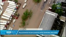 Brésil : São Paulo sous les eaux, la région paralysée