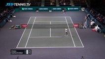 Rotterdam - Le point fou d'Evans contre Kohlschreiber