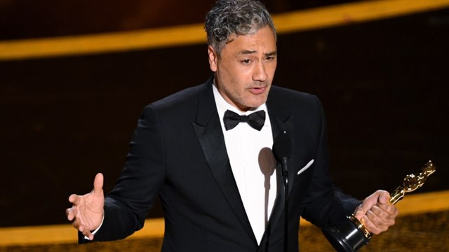 Taika Waititi celebrates 'Indigenous kids all over the world' following win at 2020 Oscars