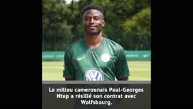 Ntep résilie son contrat avec Wolfsbourg