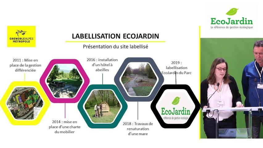9 - Lucille Dargent, Jérôme Dutroncy et Daniel Muller, Grenoble Alpes Métropole - Rencontre EcoJardin 2020