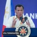 Philippines sends VFA notice of termination to U.S.
