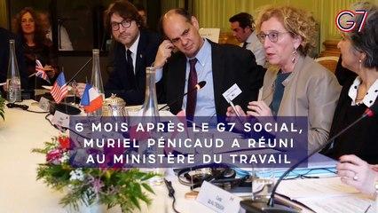 Vidéo de la  rencontre de haut niveau pour la mise en œuvre des engagements du G7 Social | 19 décembre 2019