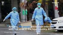 Rising coronavirus death toll raises concern for Tokyo 2020 Olympics