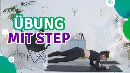 Übung mit Step - Du Bist Fit