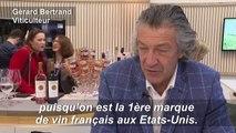 Au salon du vin de Paris, les taxes Trump donnent le blues aux viticulteurs