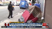 Homeless Crisis  LAFD inundated with homeless calls