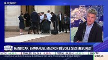 Handicap: Emmanuel Macron dévoile ses mesures - 11/02