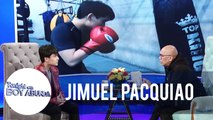 Jimuel admits that Jinkee doesn't like the idea of him entering the boxing industry | TWBA