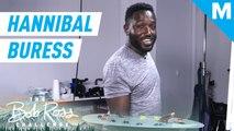 Hannibal Buress paints along with Bob Ross — The Bob Ross Challenge