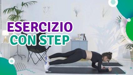 Esercizio con step - Siamo Sportivi