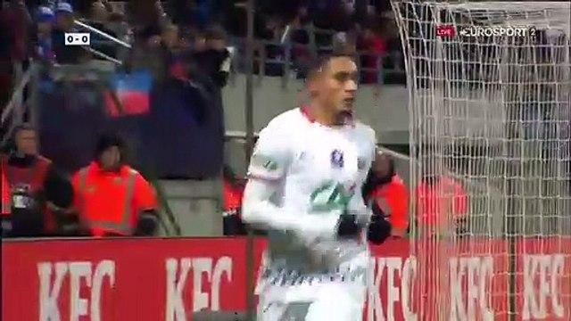 ? Belfort - Rennes : La belle ouverture du score de Raphinha