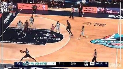 Rasheed Sulaimon Points in Pau Lacq Orthez vs. Dijon
