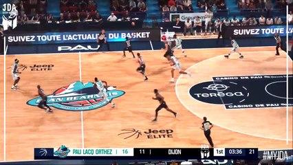 J23 : Pau-Orthez - JDA Dijon en vidéo