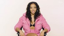"""Tinashe Sings Janet Jackson, 6LACK, and """"Die a Little Bit"""" in a Game of Song Association   ELLE"""