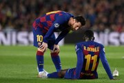 Dembélé fuera de las chanchas por sus lesiones en el Barça