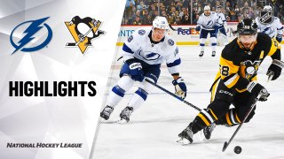 Pittsburgh Penguins vs. Tampa Bay Lightning - Game Highlights