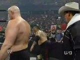 Part 1: Hardy-HBK-Y2J vs. Snitsky-JBL-Umaga - Raw 02-04-08
