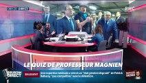 """Qui a dit : """"Soyez fiers d'être des amateurs"""" ? ... Relevez le quiz du Président Magnien ! - 12/02"""