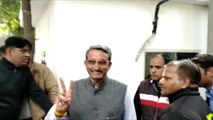 Victorious AAP MLAs arrive for meeting with party chief Arvind Kejriwal