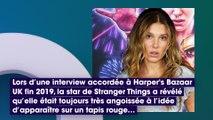 Millie Bobby Brown (Stranger Things) : pourquoi elle est angoissée par ses apparitions sur le red carpet