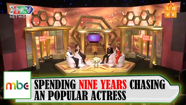 SPENDING NINE YEARS CHASING A POPULAR ACTRESS