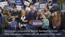 Sanders on New Hampshire victory: 'The beginning of the end for Trump'