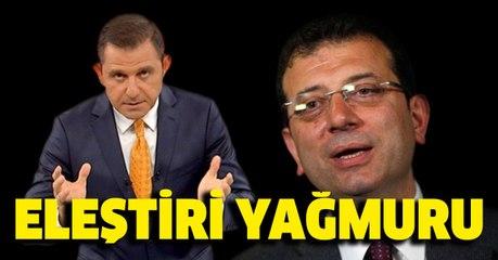 Fatih Portakal'dan Ekrem İmamoğlu'na tepki